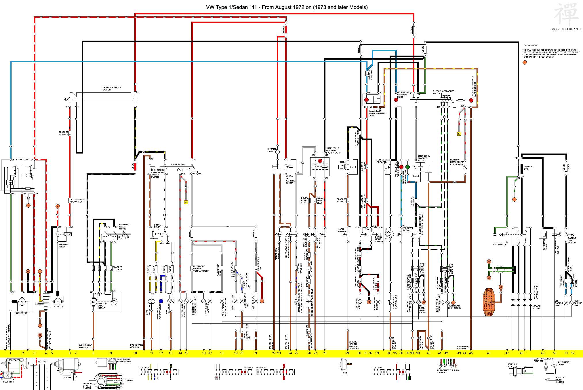 Wiring Diagram To Match The Wire Colors To The Relay On Your Van To